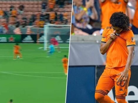 Adalberto Carrasquilla marca su primer gol con el Houston Dynamo [VIDEO]