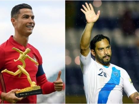 Cristiano Ronaldo acecha el récord del Pescado Ruiz