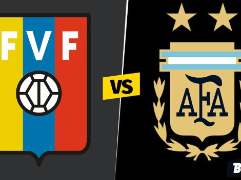 Sigue EN VIVO y EN DIRECTO a Venezuela vs. Argentina