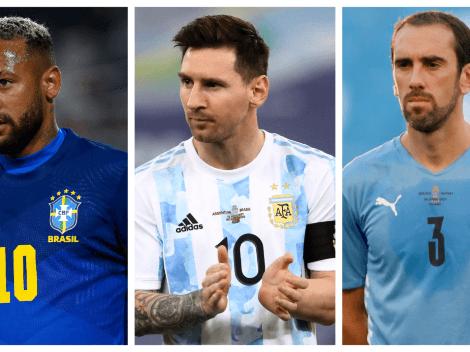 Eliminatorias CONMEBOL: así quedó la tabla de posiciones tras la fecha 5
