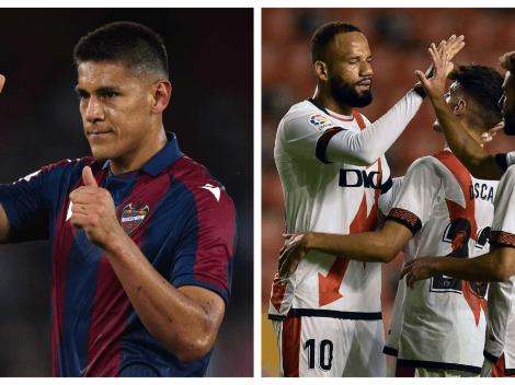 Sigue EN VIVO y EN DIRECTO a Levante vs. Rayo Vallecano