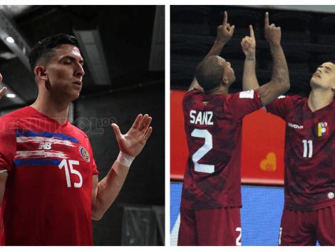 Todos los detalles de Costa Rica vs. Venezuela