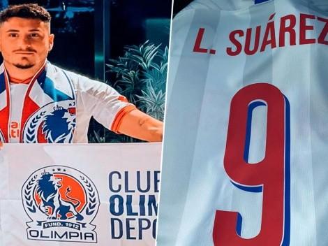 ¿Luis Suárez y Josema Giménez? Aficionados de Olimpia