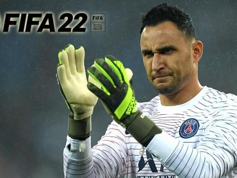 Keylor Navas entra en Top 30 del FIFA 22 con histórica calificación