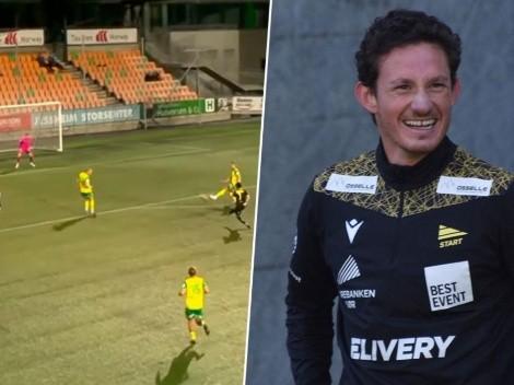 Matías Belli marca un golazo para el IK Start de Noruega [VIDEO]