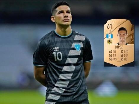 Antonio López: único chapín en el FIFA 22