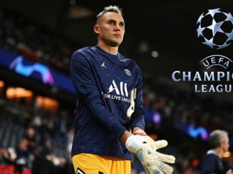 Keylor Navas mantiene un récord en la Champions League