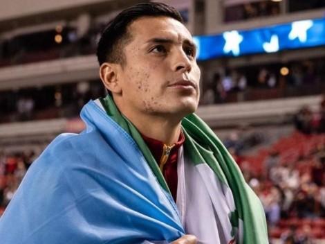 Rubio Rubín se pone la bandera de Guatemala