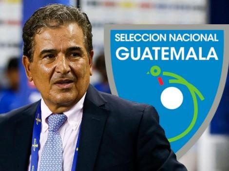 Jorge Luis Pinto se reunió hoy con la Federación de Guatemala