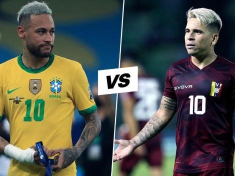 Venezuela vs. Brasil: cuándo, dónde y por qué canal ver el partido por la fecha 10 de las Eliminatorias Conmebol en Centroamérica
