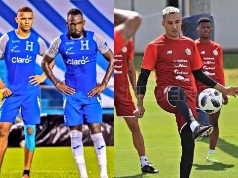 El posible once de Honduras y Costa Rica para enfrentarse por Eliminatorias