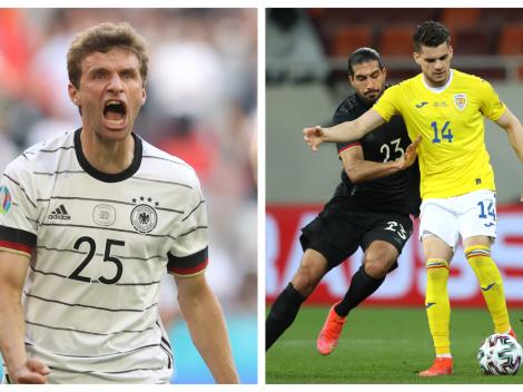 Todos los detalles de Alemania vs. Rumania