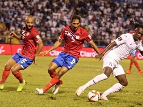 Honduras y Costa Rica igualaron en el Olímpico Metropolitano
