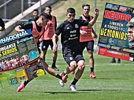 Prensa mexicana calienta la previa ante Honduras por Eliminatorias