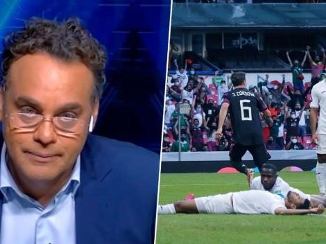 """David Faitelson muy duro contra Honduras: """"No fue rival para medir a México"""""""