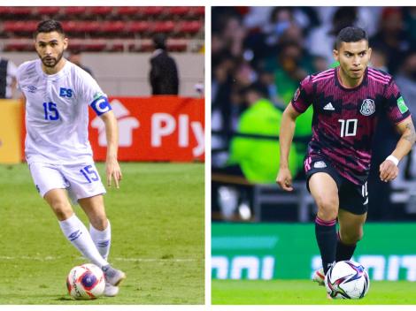 Sigue EN VIVO y EN DIRECTO a El Salvador vs. México
