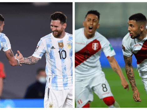 Sigue EN VIVO y EN DIRECTO a Argentina vs. Perú
