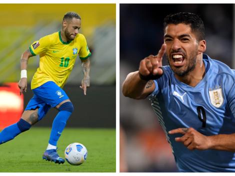 Sigue EN VIVO y EN DIRECTO a Brasil vs. Uruguay