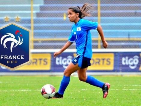 Samaria Gómez de El Salvador jugará en el fútbol de Francia
