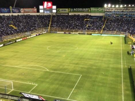 El estadio Cuscatlán fue sancionado