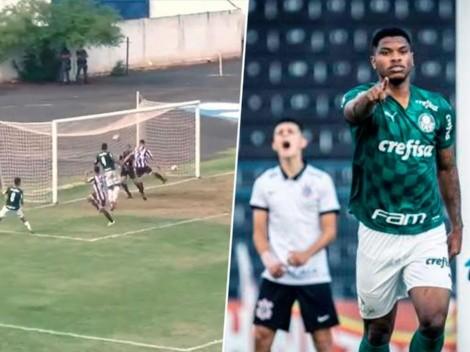 Newton William marca en la goleada del Palmeiras ante el Vocem [VIDEO]