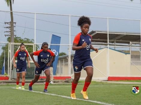 Selección de Panamá Femenina inicia entrenamientos antes de sus amistosos