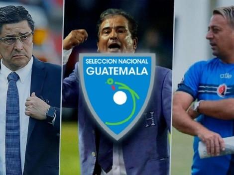 Los 3 finalistas para convertirse en el nuevo entrenador de Guatemala