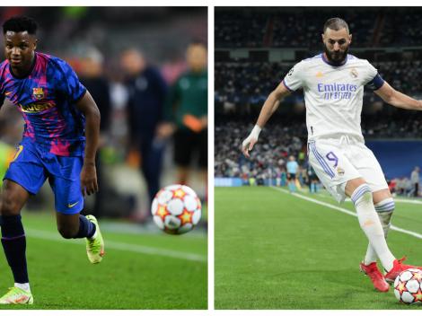 Sigue EN VIVO y EN DIRECTO a Barcelona vs. Real Madrid