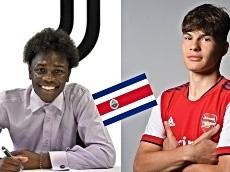 Joyas ticas en Juventus y Arsenal, mandan guiño a la Tricolor